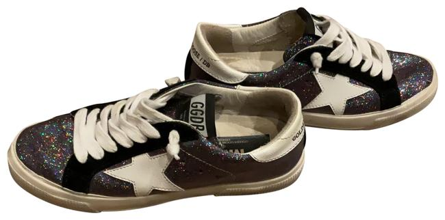 Item - Multi Colored Gray Glitter Black and White Sneakers Size EU 36 (Approx. US 6) Regular (M, B)