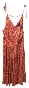 Marc Jacobs short dress Red and kahki on Tradesy