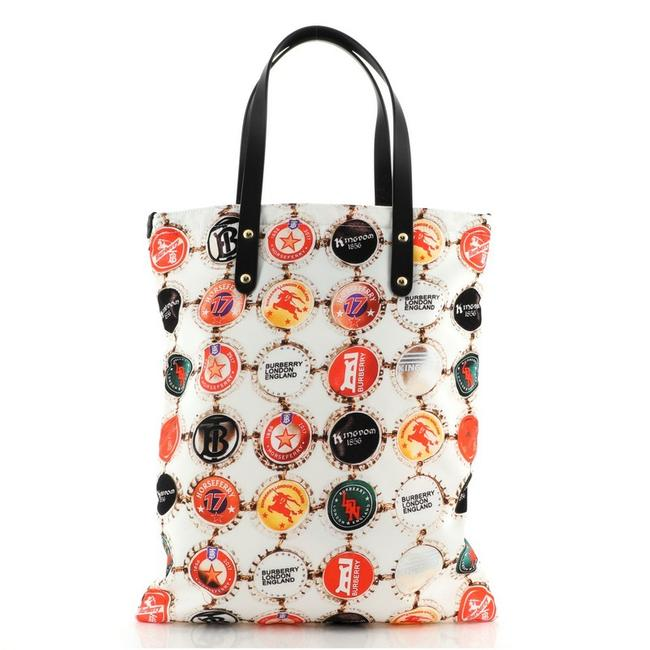 Item - Flat Printed Large Multicolor Nylon Tote