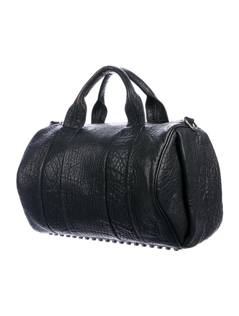 Item - Rocco Duffel Black Leather Tote