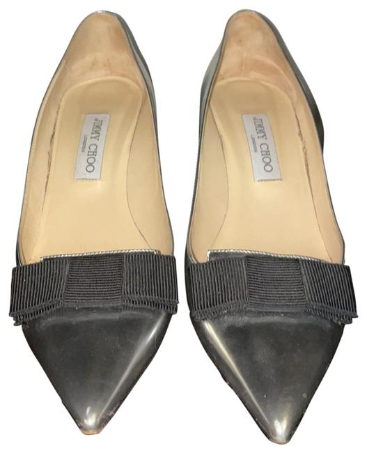 Item - Silver Pumps Size EU 41 (Approx. US 11) Regular (M, B)