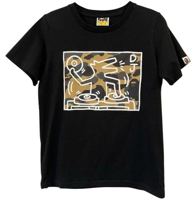 Item - Black X Keith Haring Tee Shirt Size 4 (S)
