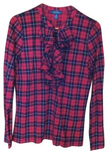 Ralph Lauren Button Down Shirt red plaid