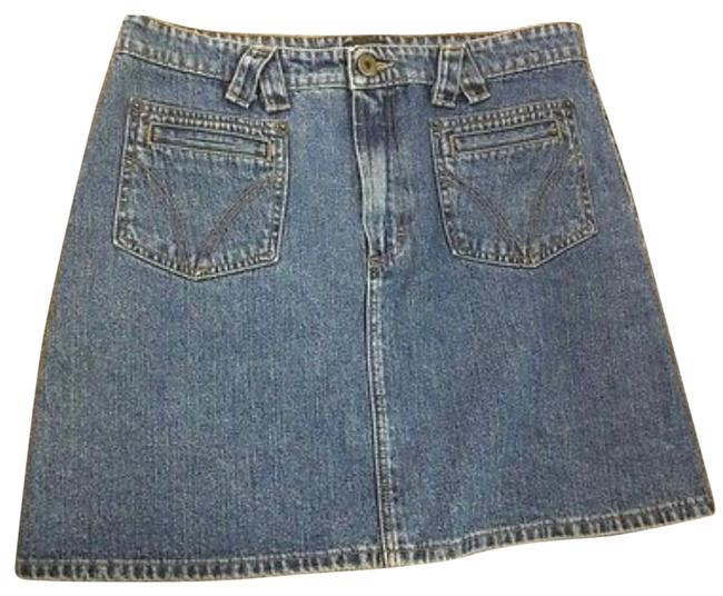 Item - Blue Denim Skirt Size 8 (M, 29, 30)