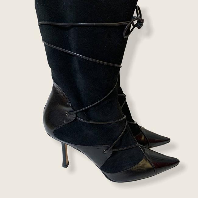 Jimmy Choo Black Suede Leather Knee High Boots/Booties Size EU 40 (Approx. US 10) Regular (M, B) Jimmy Choo Black Suede Leather Knee High Boots/Booties Size EU 40 (Approx. US 10) Regular (M, B) Image 8
