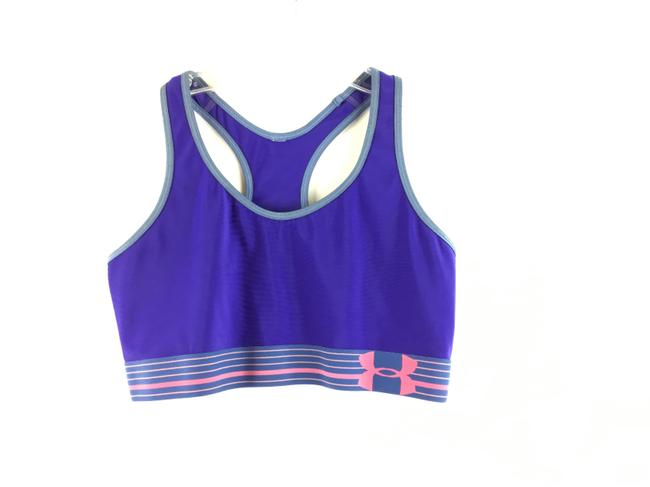 Item - Blue Athletic Workout Activewear Top Size 4 (S)