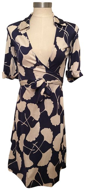 Item - Multicolor Classic Wrap Mid-length Work/Office Dress Size 0 (XS)