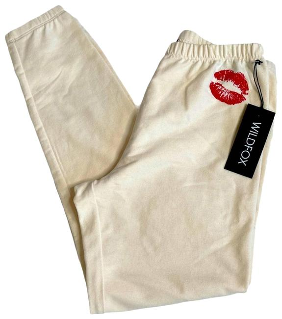 Item - White Smooches Vanilla Jogger New S Activewear Bottoms Size 4 (S, 27)