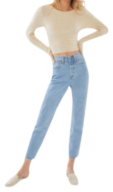 Item - Light Wash Tango Wedgie Iconic Fit In Talks Straight Leg Jeans Size 25 (2, XS)