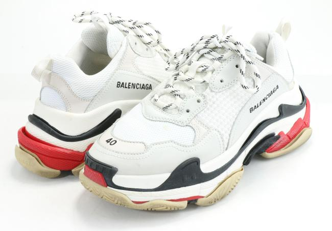 Item - White Triple S Sneakers Shoes