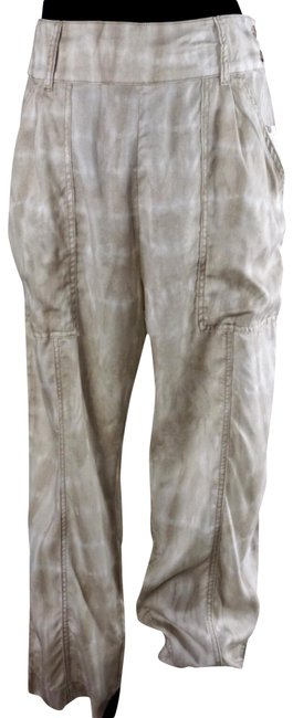 Item - Beige Mitra Tie Dye Lagenlook Relaxed New Pants Size 8 (M, 29, 30)