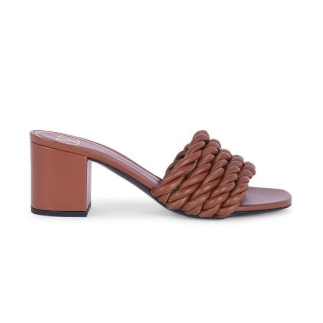 Item - Brown Rope Leather Mule Sandals Size EU 36.5 (Approx. US 6.5) Regular (M, B)
