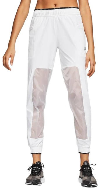 Item - White Air Running Trousers In Activewear Bottoms Size 12 (L, 32, 33)