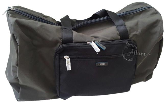Item - Duffle New Packable Just In Case Carry On Gray Nylon Weekend/Travel Bag