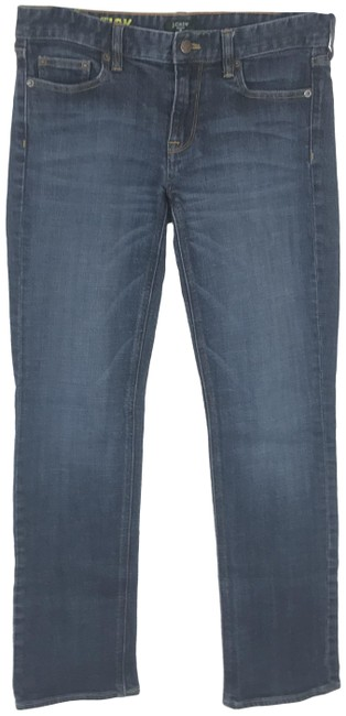 Item - Blue Medium Wash Straight and Narrow Matchstick Skinny Jeans Size 28 (4, S)