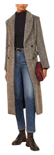 Item - Grey York Herringbone Women's Coat Size 4 (S)