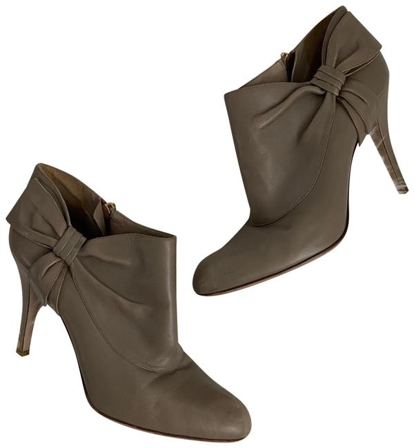 Item - Taupe Gray Leather Now Heels Boots/Booties Size EU 40 (Approx. US 10) Regular (M, B)