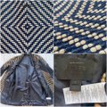 J.Crew Navy Tan Collection French Tweed Geometric Coat Size 6 (S) J.Crew Navy Tan Collection French Tweed Geometric Coat Size 6 (S) Image 9