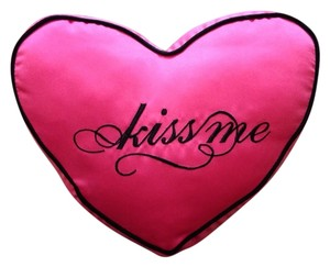 Victoria's Secret Victoria's Secret Pink Heart 'Kiss Me' Pillow