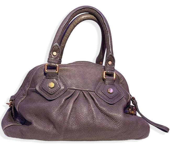 Item - Classic Q Baby Groovee Taupe Leather Satchel