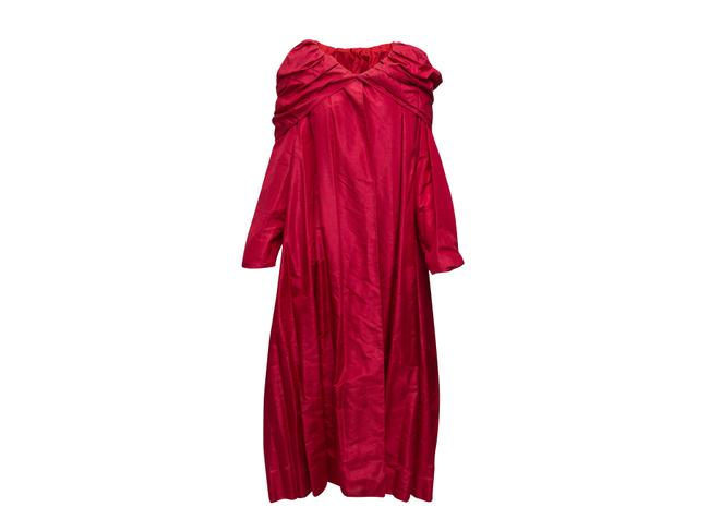 Item - Red Vintage 1950s Gown Robe Long Night Out Dress Size OS (one size)