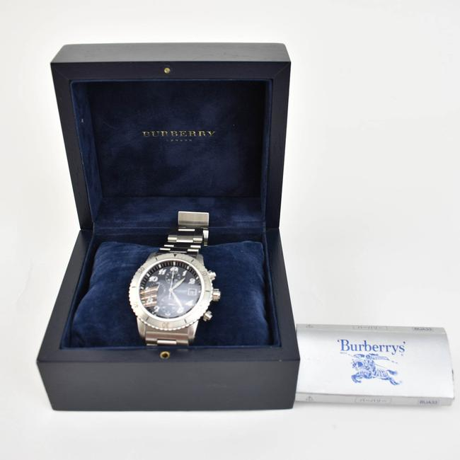 Burberry Silver Stainless Steel Logo Chronograph (Nm) Watch Burberry Silver Stainless Steel Logo Chronograph (Nm) Watch Image 2