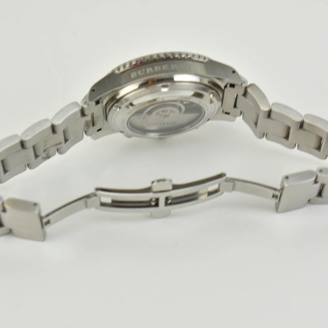 Burberry Silver Stainless Steel Logo Chronograph (Nm) Watch Burberry Silver Stainless Steel Logo Chronograph (Nm) Watch Image 5