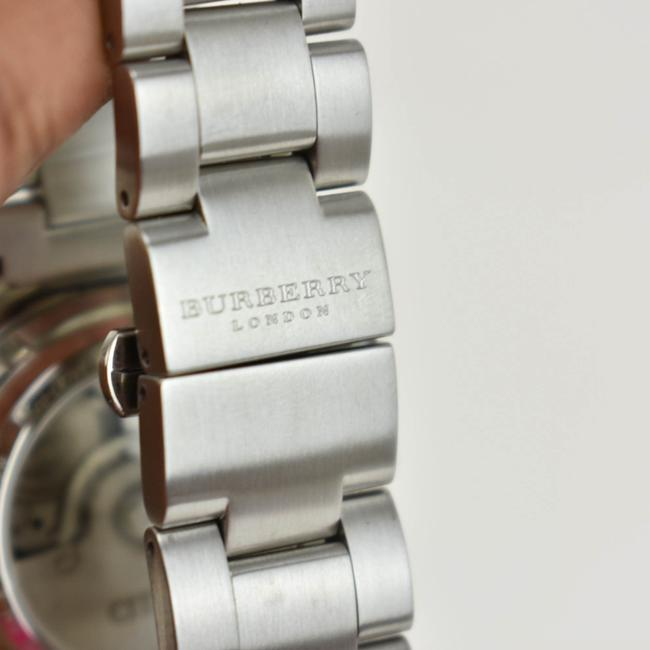 Burberry Silver Stainless Steel Logo Chronograph (Nm) Watch Burberry Silver Stainless Steel Logo Chronograph (Nm) Watch Image 7