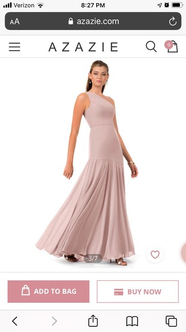 Item - Dusty Rose Traditional Bridesmaid/Mob Dress Size 10 (M)