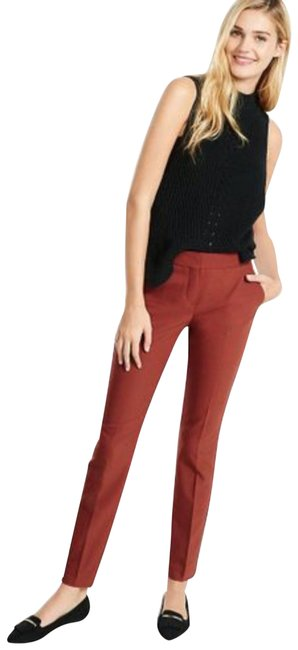 Item - Red Rise Columnist Ankle In Rust Pants Size 0 (XS, 25)