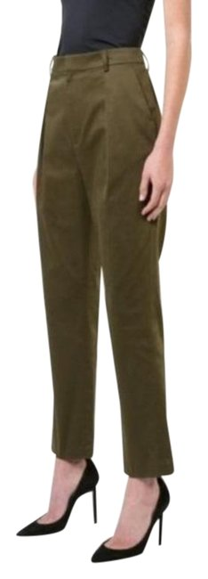 """Item - Green """"Grady"""" High Waist Tapered Cropped Pants Size 6 (S, 28)"""