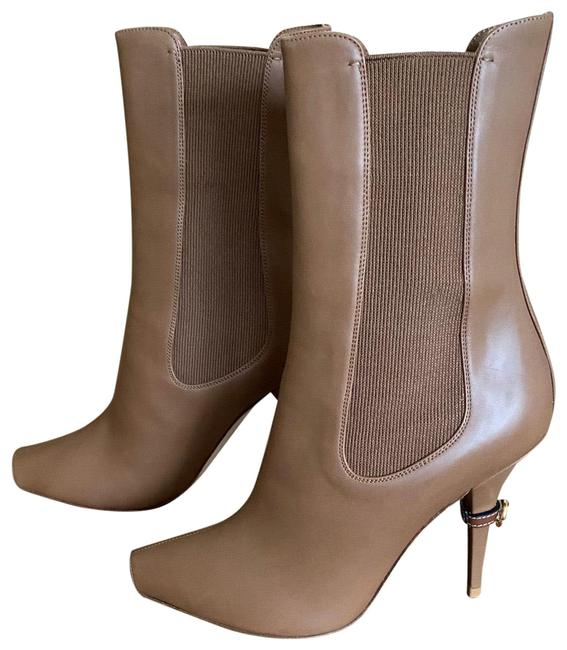 Item - Brown Women Ankle Euro Boots/Booties Size EU 39 (Approx. US 9) Regular (M, B)