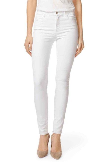Item - White Light Wash High Rise Skinny Jeans Size 28 (4, S)
