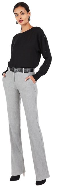 Item - Gray Mid Rise Barely Boot Columnist Pants Size 6 (S, 28)