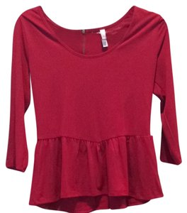 Xhilaration Top Red