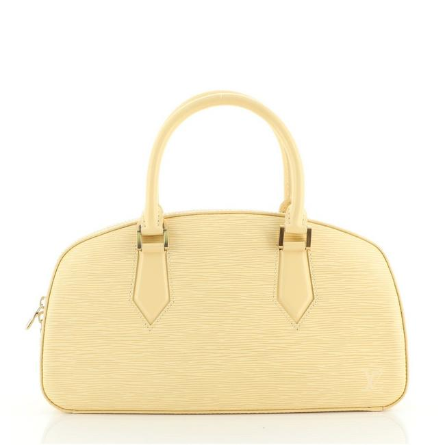 Item - Jasmin Epi Yellow Leather Tote