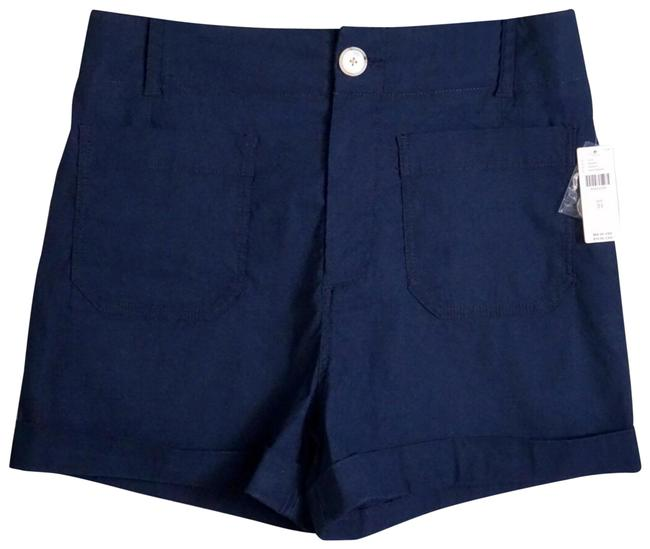Item - Navy Blue Megan Patch Pocket New 31 Shorts Size 10 (M, 31)