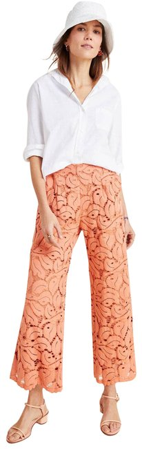 Item - Pink New Dolly Peach Lace Pants Size 8 (M, 29, 30)