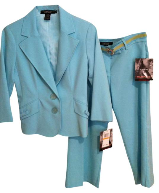 Preload https://img-static.tradesy.com/item/288496/rampage-turquoise-summer-34-sleeve-jacket-and-capri-pant-suit-size-4-s-0-0-650-650.jpg