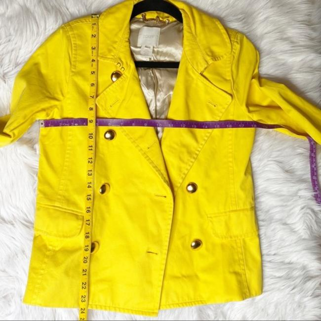 J.Crew Yellow Gold Trudy Double Breasted Coat Size 2 (XS) J.Crew Yellow Gold Trudy Double Breasted Coat Size 2 (XS) Image 11