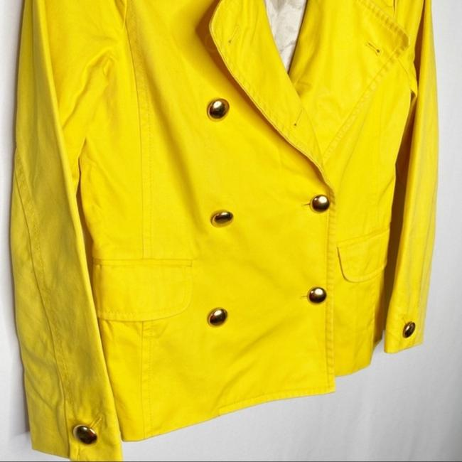 J.Crew Yellow Gold Trudy Double Breasted Coat Size 2 (XS) J.Crew Yellow Gold Trudy Double Breasted Coat Size 2 (XS) Image 3