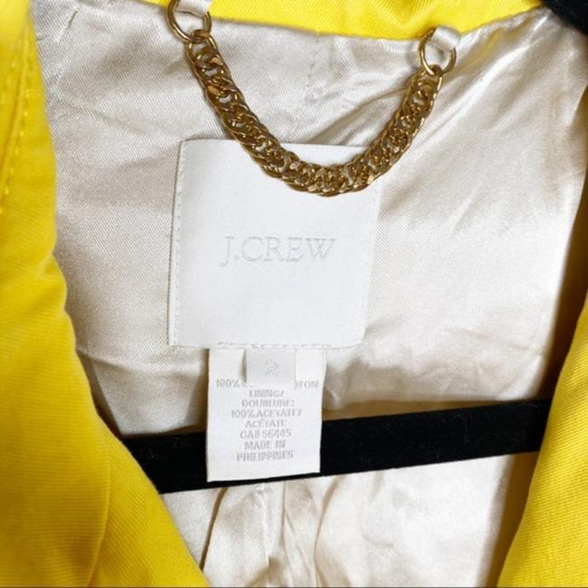 J.Crew Yellow Gold Trudy Double Breasted Coat Size 2 (XS) J.Crew Yellow Gold Trudy Double Breasted Coat Size 2 (XS) Image 4