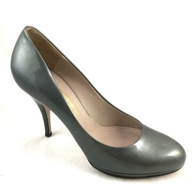 Item - Gray Candis Classic Patent Pumps Size US 11 Regular (M, B)