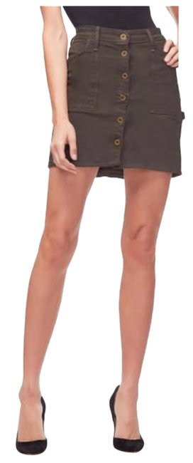 Item - Olive The Mini Button Front Skirt Size 12 (L, 32, 33)