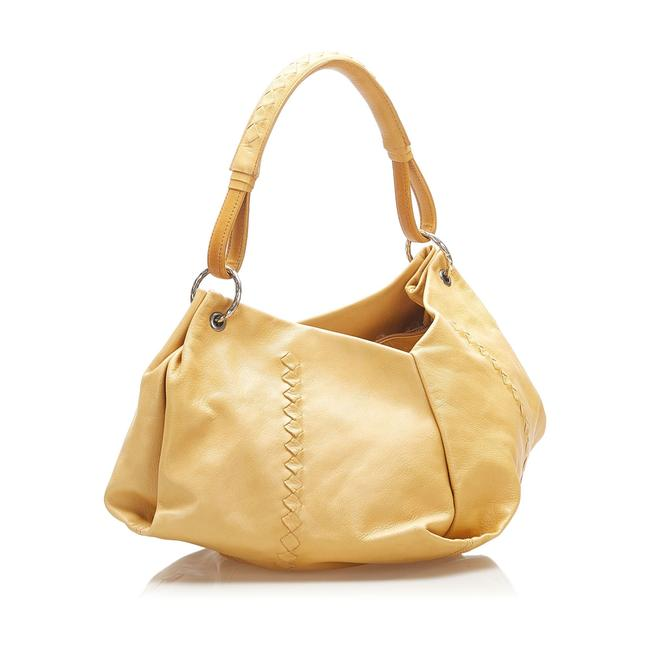 Item - Aquilone Yellow Leather Shoulder Bag