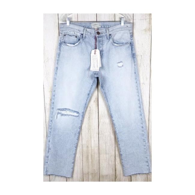 Item - Blue Distressed Mulholland Destroy Boyfriend Cut Jeans Size 8 (M, 29, 30)