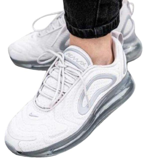 Nike Gray White Air Max 720 Sneakers Size US 7.5 Regular (M, B) Nike Gray White Air Max 720 Sneakers Size US 7.5 Regular (M, B) Image 1