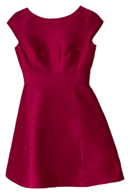 Item - Pink Backless In Full Bloom Sweetheart Short Cocktail Dress Size 0 (XS)