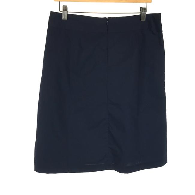Item - Navy Blue Basic Skirt Size 6 (S, 28)