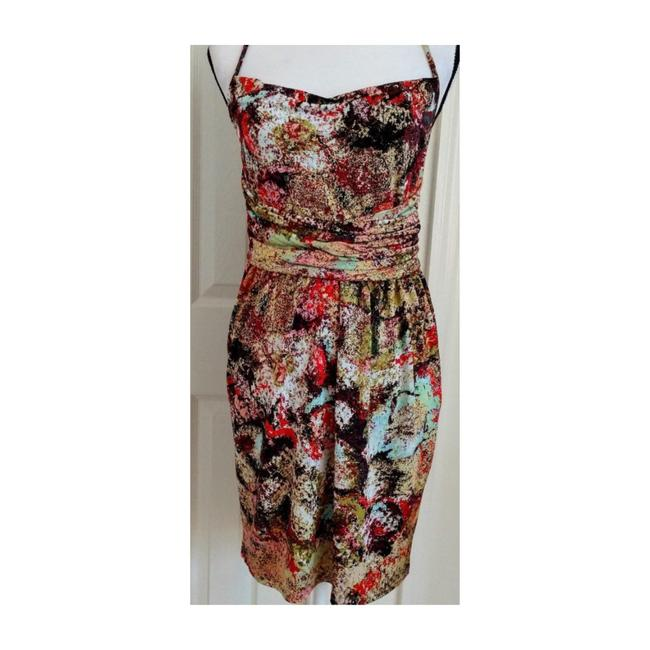 Item - Multicolor Sexy Cocktail Short Night Out Dress Size 10 (M)